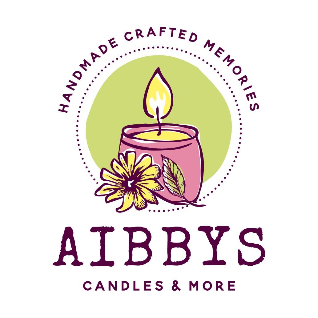AIBBYS Candles & More logo design
