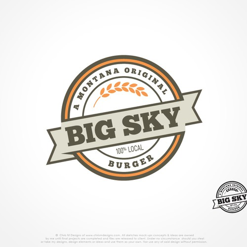 New logo wanted for Big Sky Burger