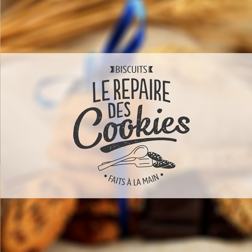 Cool logo for a cookies handmade shop  - Logo sympa pour une biscuiterie artisanale