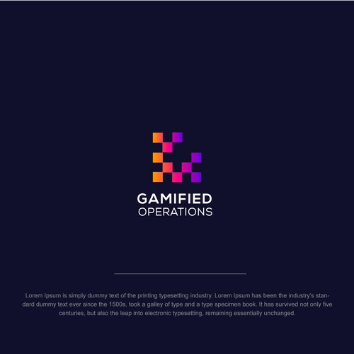 Logo for Gamified Operations
