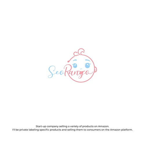 logo , emblem , baby face
