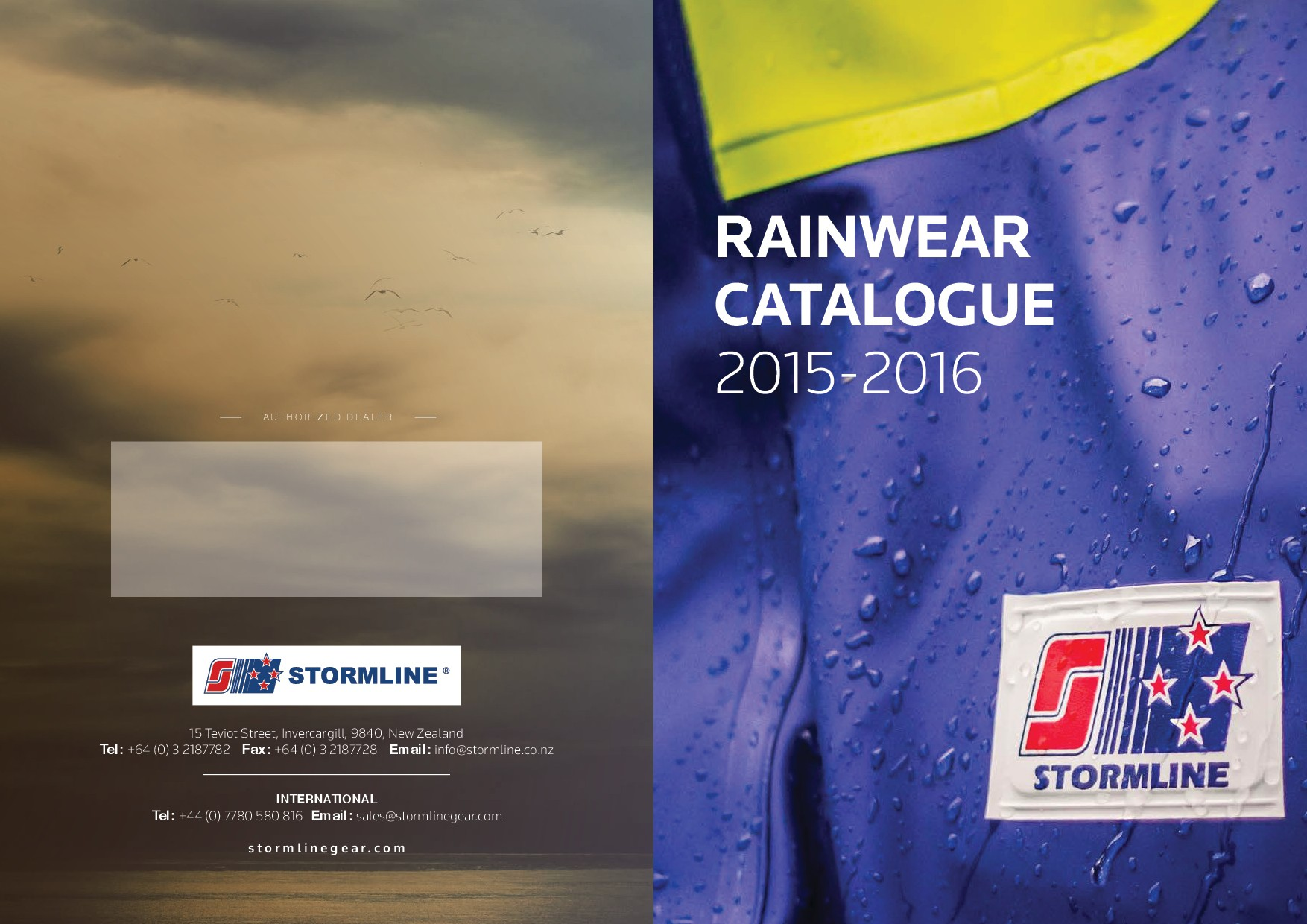 Catalogue - new pages