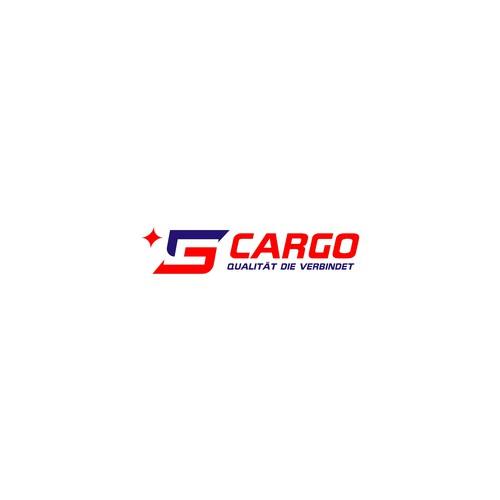 simple logo of trucking cargo