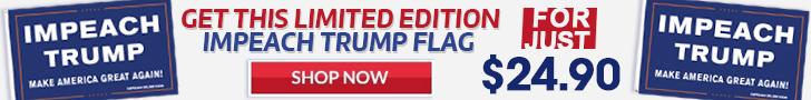 Banner for new Impeach Trump Flag