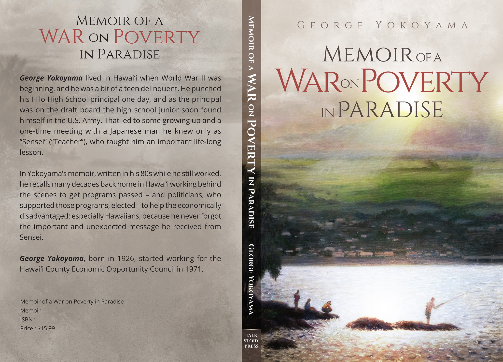 Help create a captivating cover for this memoir.