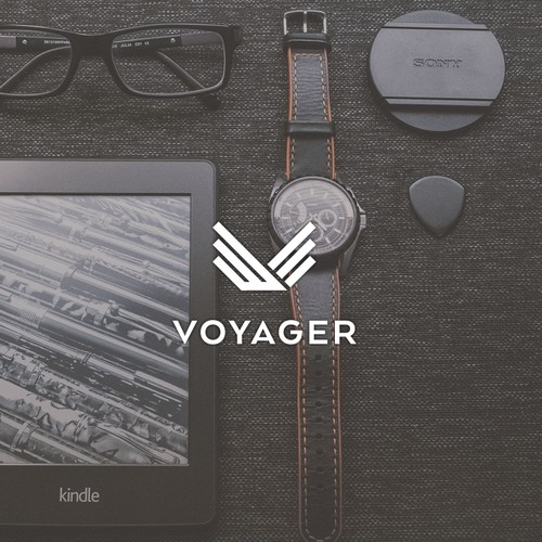 Clean logo for a men's lifestyle accessories line