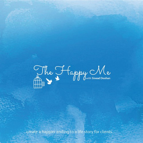 Innovative Logo concept for the happy me.