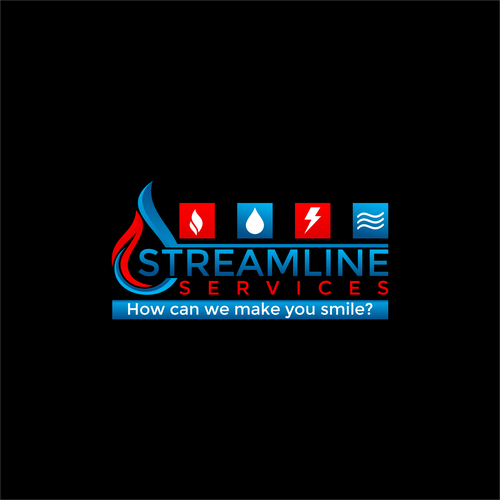 Streamline Logo Design.