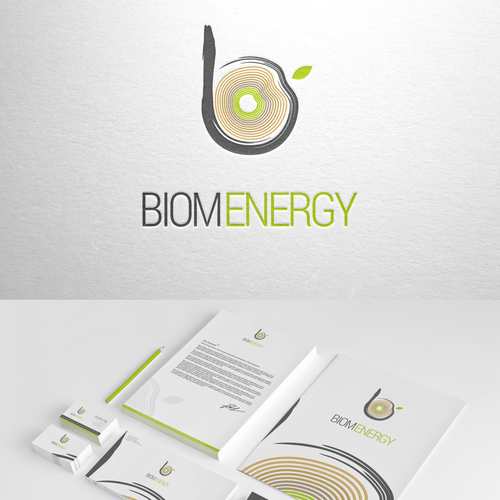 Create a brand identity pack for a Bio Fuel company - Company Name -Biom Energy