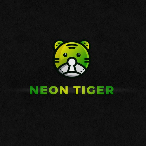 Logo design concept for Neon Tiger