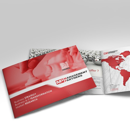 Brochure for a specialized consulting company