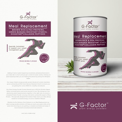 Packaging Design for G-factor