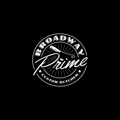 Logo Conept for Broadway Prime Custom Butcher