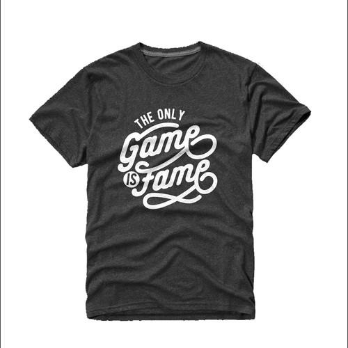 Print T-Shirt for Premium Denim Brand