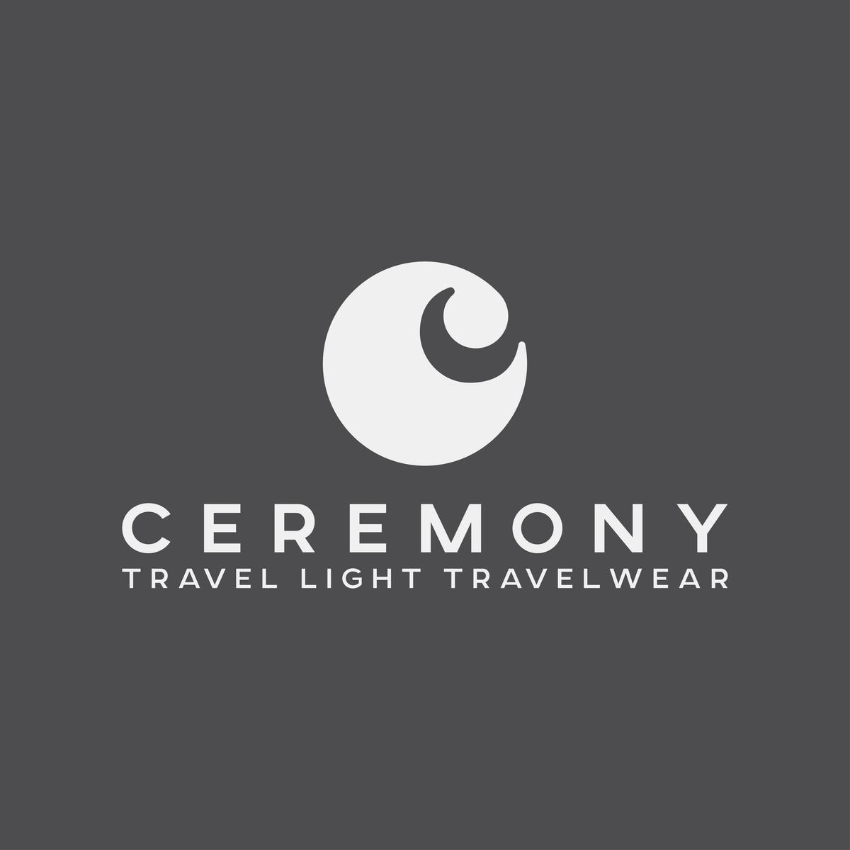 CEREMONY/ travel light travel wear