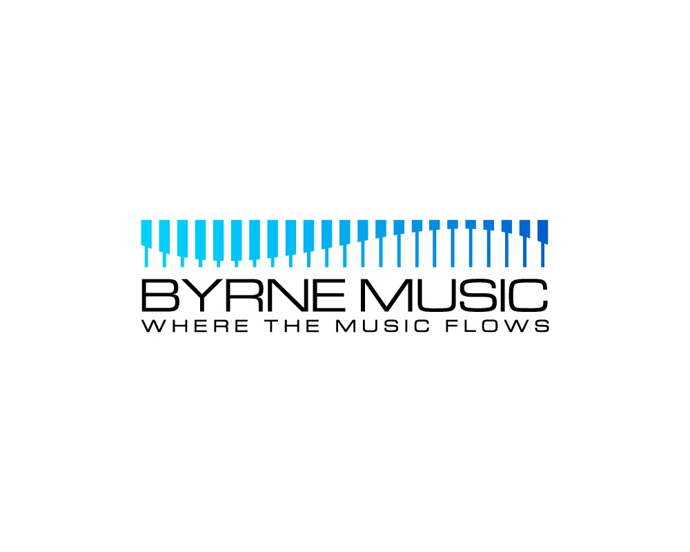 Create an impactful and engaging logo for Byrne Music!