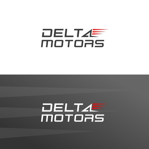 DELTA MOTORS Wordmark Logo