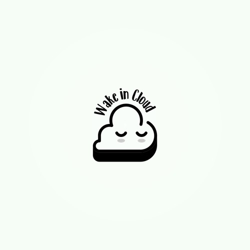 Wake in Cloud - a cute logo