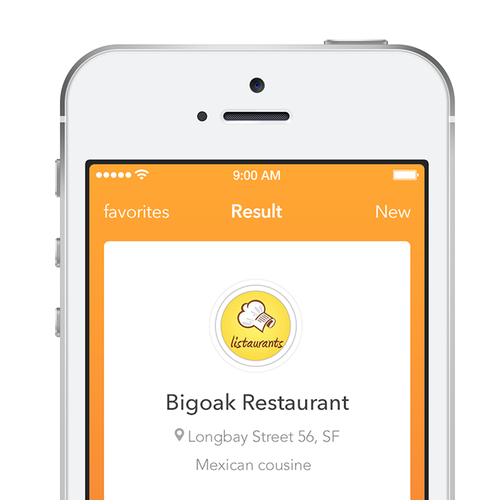 "Create a minamilistic Resturants Suggestion app for that ""where should we eat"" moment !"
