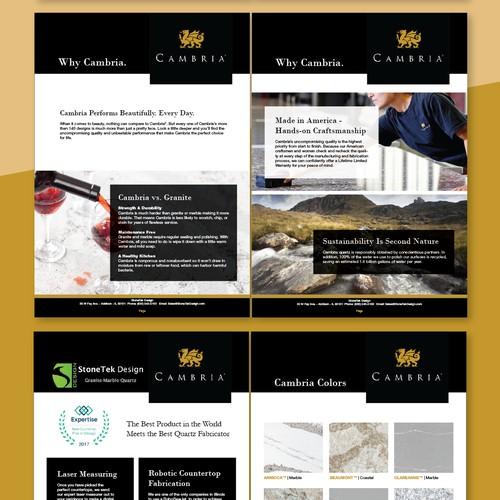 Presentation company brochure