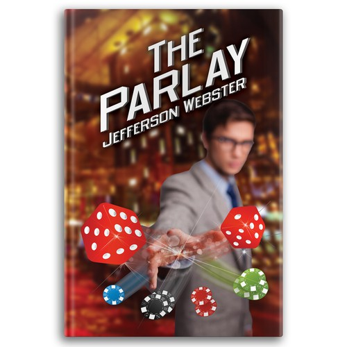 Exciting cover for a novel that takes place in Las Vegas!