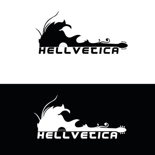 The band Hellvetica need a logo \m/ \m/