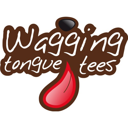 Help Wagging Tongue Tees, LLC with a new print or packaging design