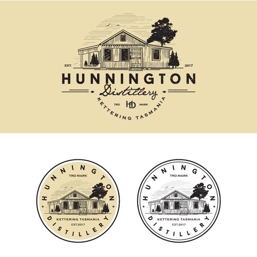 Logo for new distillery company