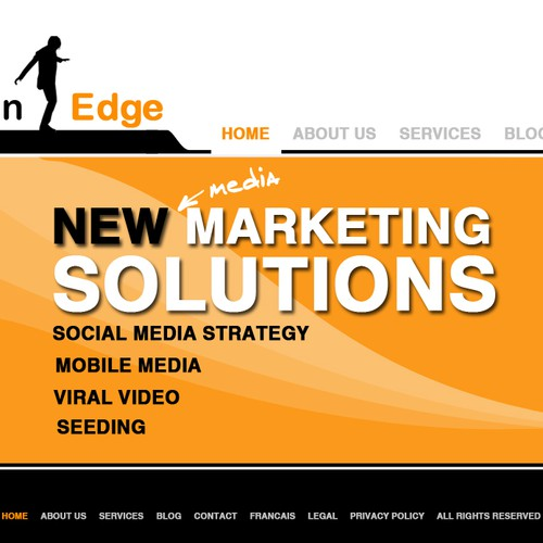 Aaron Edge Website Design