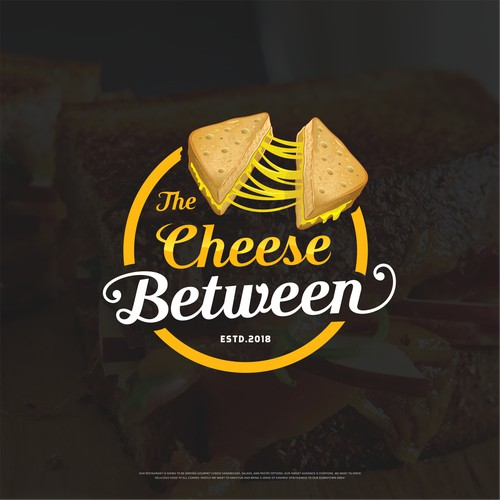 the cheese between.