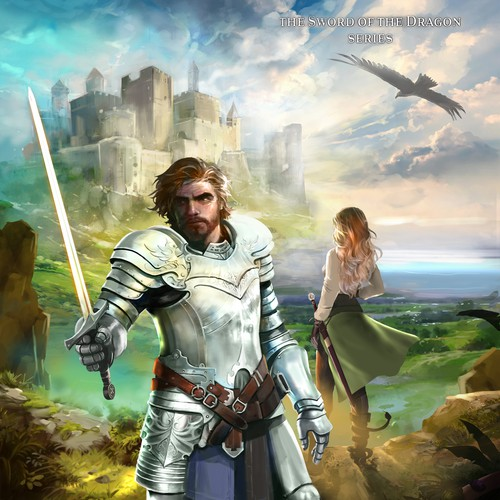 Epic Fantasy book cover illustration