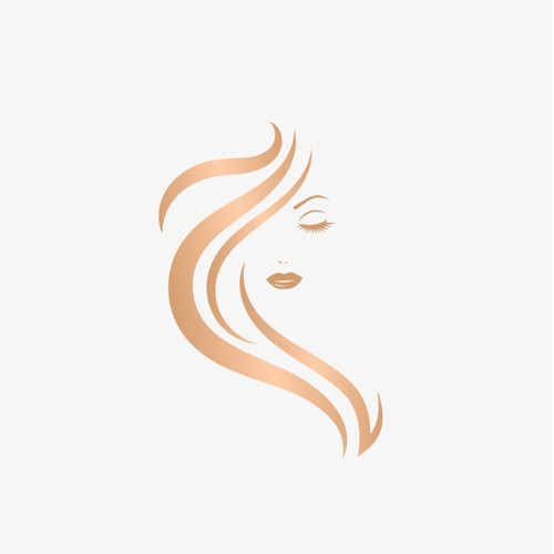 An elegant logo design for a makeup shop
