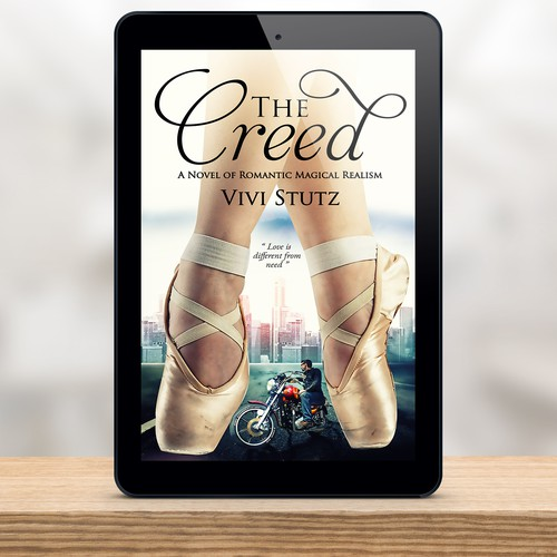 Book cover design for Vivi Stutz-The creed