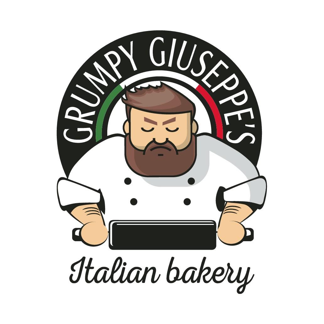 Design a fun but classy logo for a high end Italian bakery
