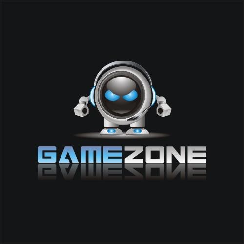 Gamezone logo design
