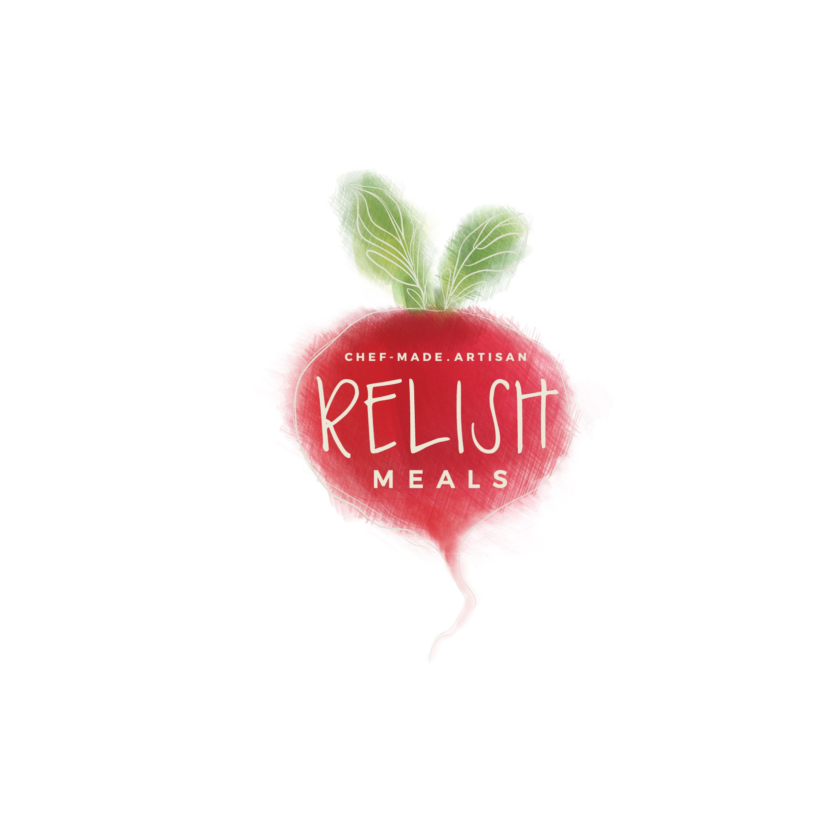 Relish Meals - create a logo that can also be incorporated into design features/backgrounds