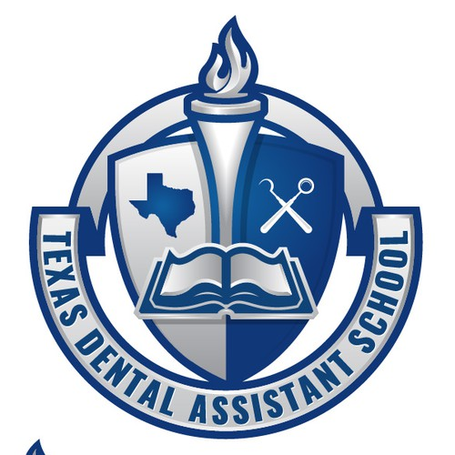 A Logo for Dental Assistant school.