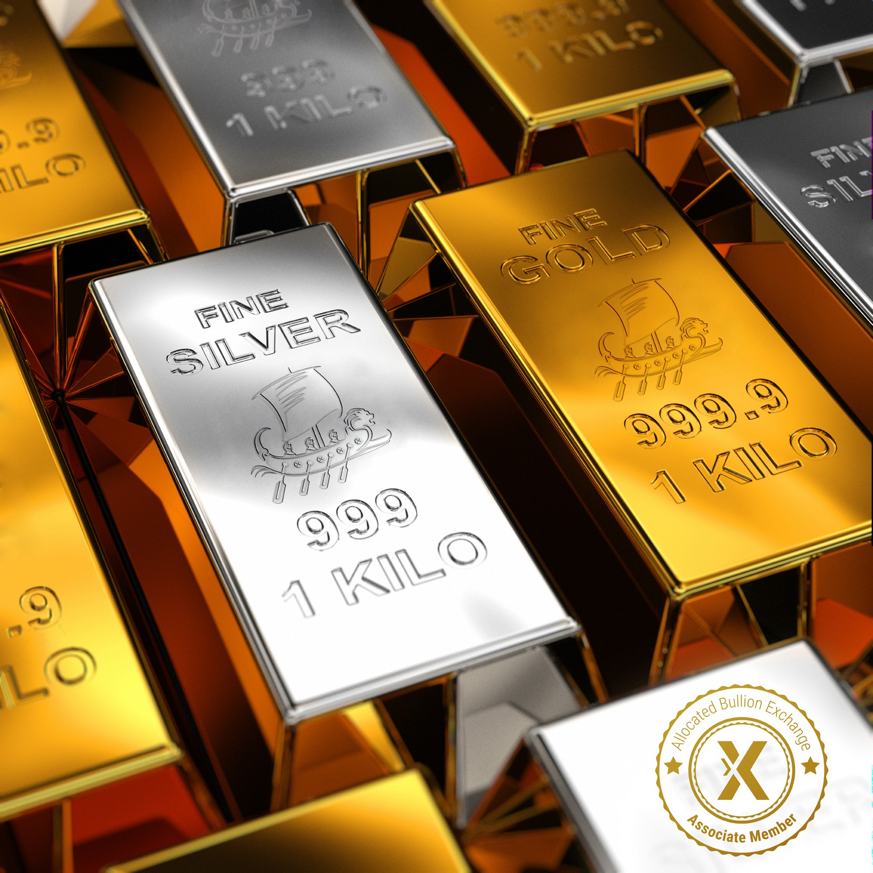 Gold & Silver bars | Four Metals Market 002