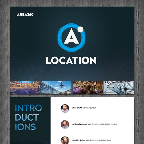 Presentation Template for Area360