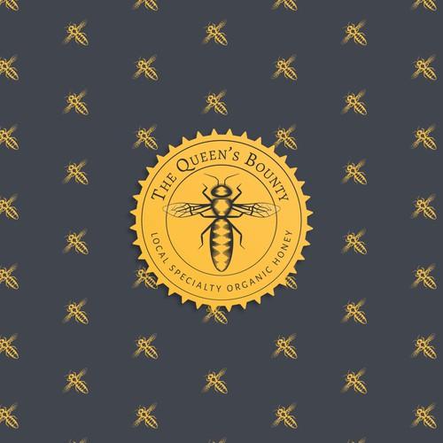 Bee Medallion
