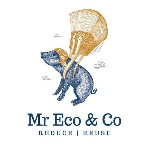 Mr Eco & Co logo design