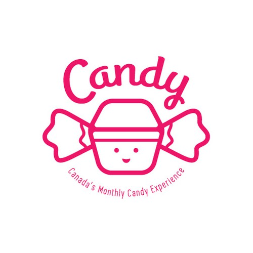 Candy Logo for Monthly Subscription Box Company