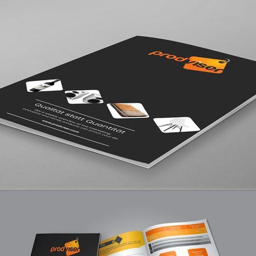 Minimal BiFold brochure design