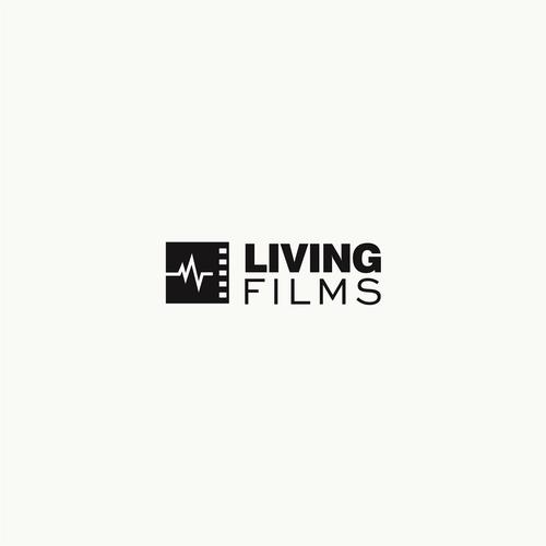 lLogo concept for Living Filmes