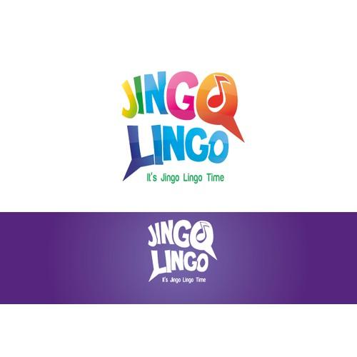 Create a logo for a kids class - Jingo Lingo