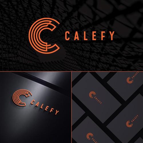 Logo concept for tech company.