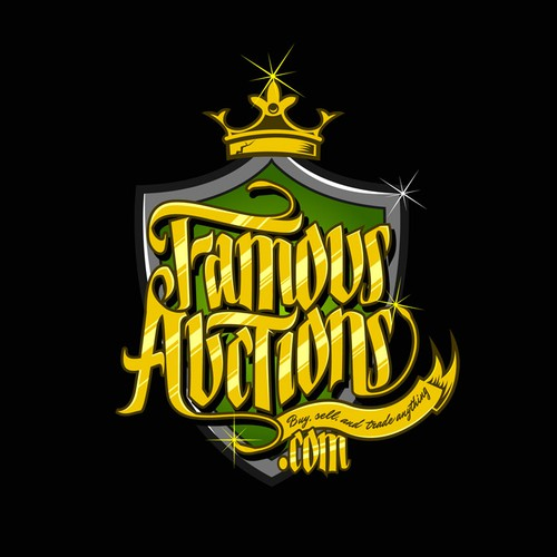 Create the next logo for Famous Auctions.com