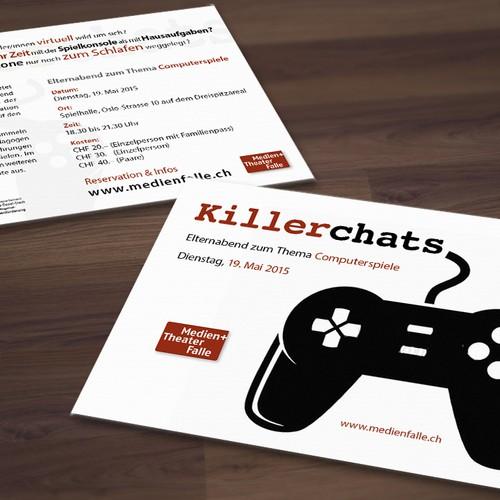 Flyer «Killerchats»