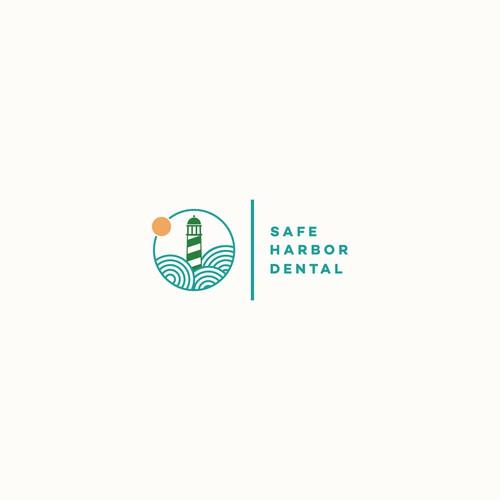 Safe Harbor Dental Logo Design