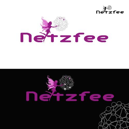 """Erstellt ein kreatives Logo für die """"Netzfee"""", das verzaubert!"""